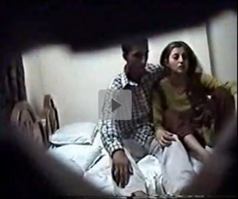 Fucking session of amateur couple gets captured in hidden cam
