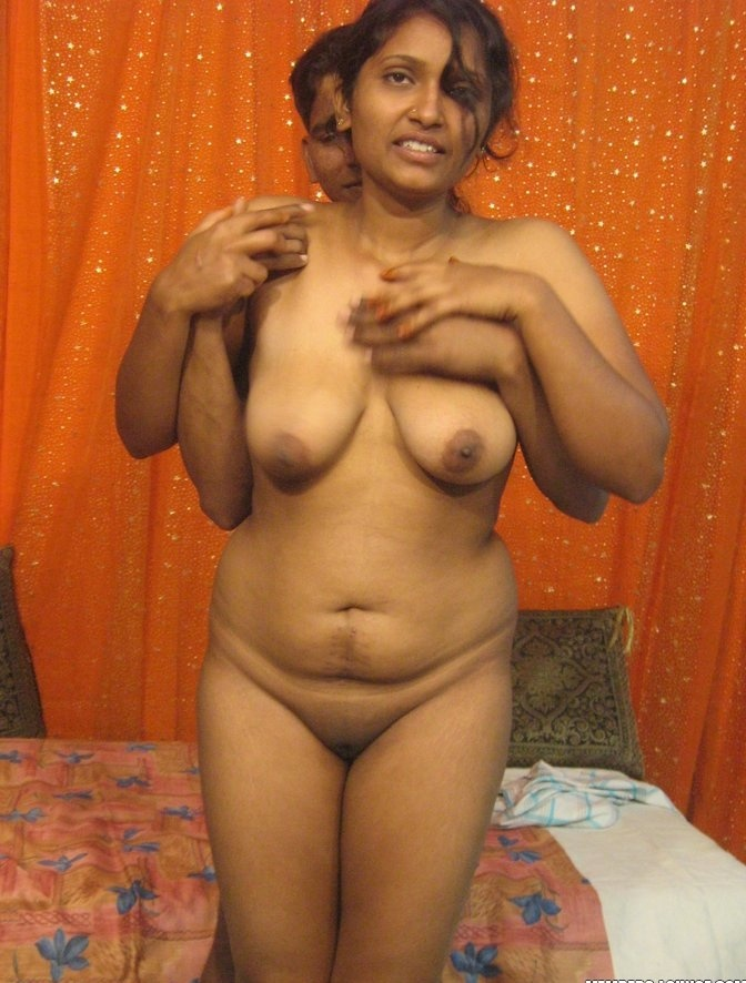 Desi couple romancing and fondling each other