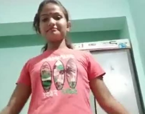 Bangladeshi college girl solo stripping video