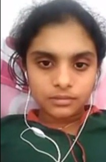 Indian teen girl nude tease for boyfriend on video call